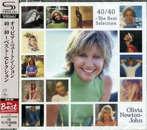OLIVIA-NEWTON-JOHN-40-40-THE-BEST-SELECTION-JAPAN-2-SHM-CD-Ltd-Ed-G25