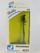 4022 VIESSMANN - ESCALA H0 - SEMAFORO PRINCIPAL 3 LEDS HOBBY HO / Hobby-Licht-Ei