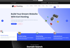 Complete Website Selling Hosting Services
