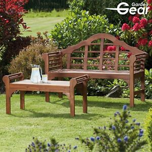 Phenomenal Details About Garden Gear Lutyens Style Bench Or Table Solid Acacia Hardwood Patio Furniture Home Interior And Landscaping Fragforummapetitesourisinfo