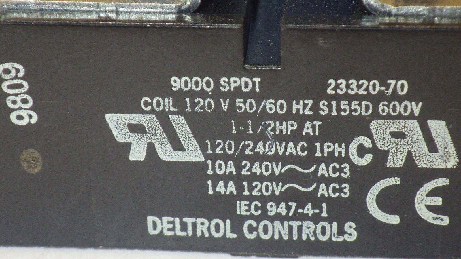 Deltrol Controls 900q Spdt 23320 70 Power Relay T96748 Ebay Solid State 5v