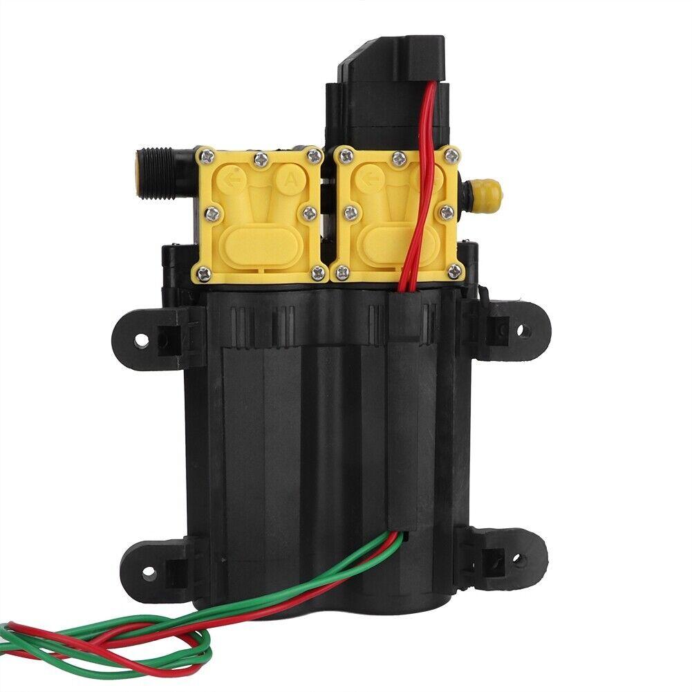 12V High Pressure Double Head Diaphragm Water Pump Electric Water Sprayer Pum HG
