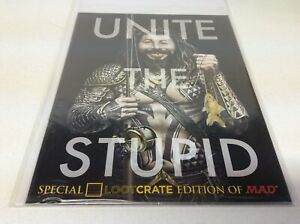 Loot Crate Exclusive Special Edition Of Mad Magazine Unite The Stupid