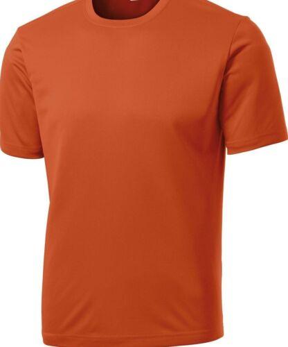 NEW MEN/'S TALL MOISTURE WICKING DRY FIT Run Workout Short Sleeve T SHIRTS TST350
