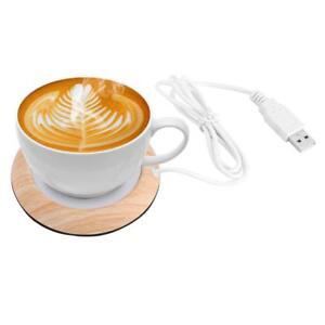 Protable-Usb-Wood-Grain-Cup-Warmer-Heat-Beverage-Mug-Mat-Keep-Drink-Warm-Heater