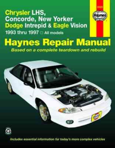 Haynes-Repair-Manual-Chrysler-Concorde-NewYorker-LHS-Dodge-Intrepid-Eagle-Vision