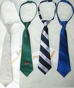 Toddler Boy Neck Tie Blue Green Clip On Size 2T 3T 4T 5T Easter New With Tag
