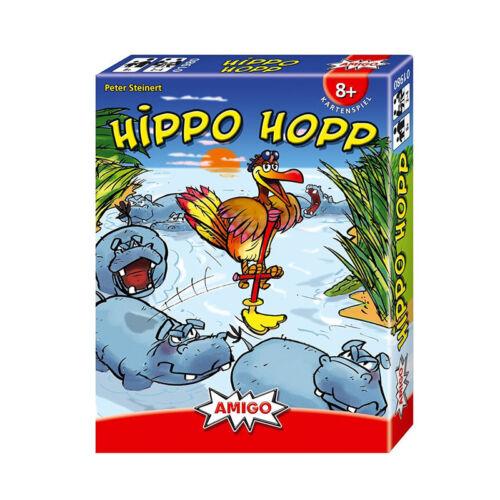 """# Amigo 01980 Kartenspiel /""""Hippo Hopp/"""" NEU"""