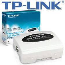 TP-LINK tl-ps110u print server/server di stampa-USB 2.0 - 10mb LAN, 100mb LAN Nuovo