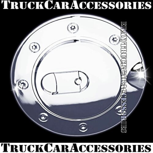For CHEVY Tahoe 1995 1996 1997 1998 1999 Chrome Gas Fuel Cap Door Cover USA NEW