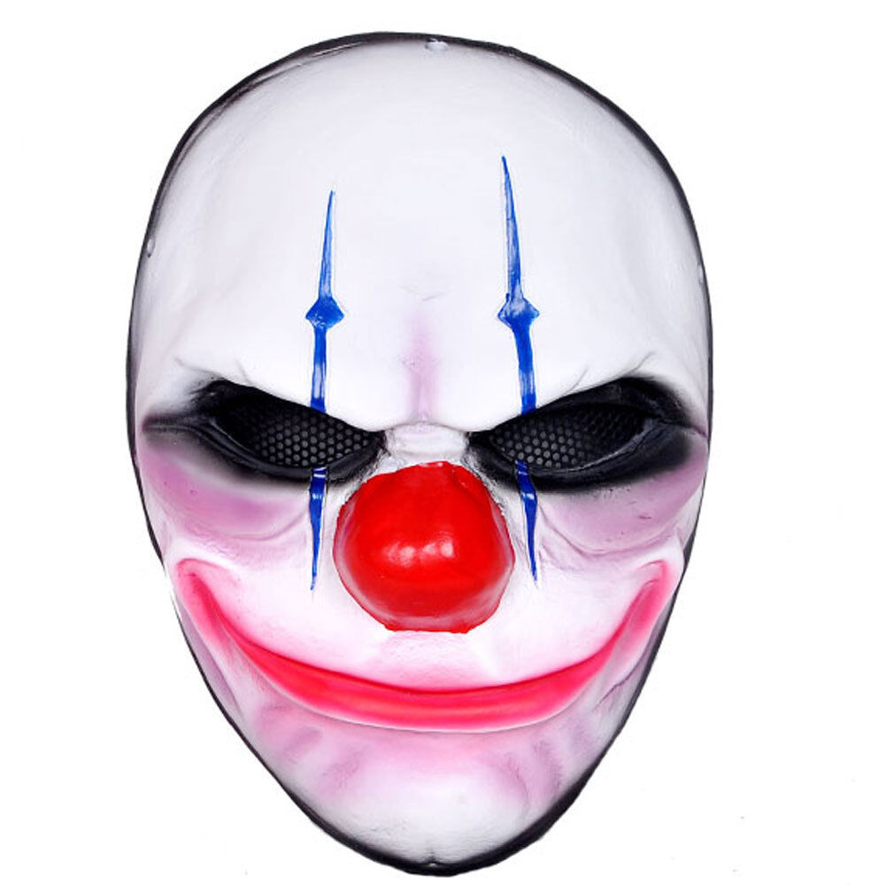 Airsoft CS Paintball Mask Full Predection PORP Cosplay PAYDAY Heist Joker Mask