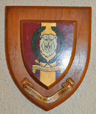 Botswana Police Force plaque shield crest badge Constabulary