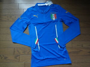9ee1683af Image is loading Italy-100-Authentic-PI-Soccer-Football-Jersey-Shirt-