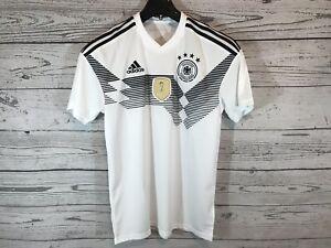 Negro Deutscher Nwt Champions Wc Fifa Adidas Blanco Hombres Tamaño mediano 2014 Jersey qOgPEpc1