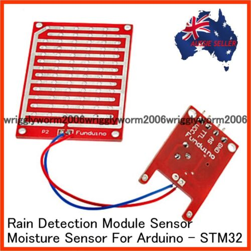 Rain Detection Module Moisture Sensor For Arduino Raspberry PI STM32  BRAND NEW