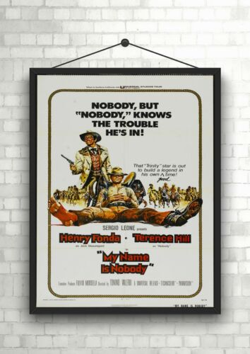 My Name Is Nobody Classic Western Movie Poster Art Print A0 A1 A2 A3 A4 Maxi