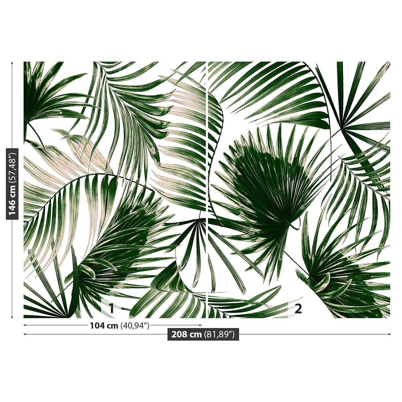 Fototapete Fototapete Fototapete Selbstklebend Einfach ablösbar Mehrfach klebbar Palmenblätter 0bcaa2