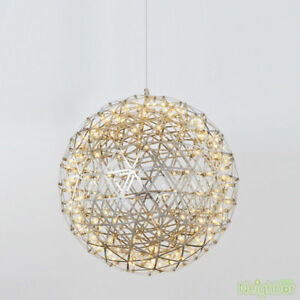 new concept f3bba f1920 Details about New LED Round Pendant Lamp Chandelier Suspension Hanging  Light Ceiling lights