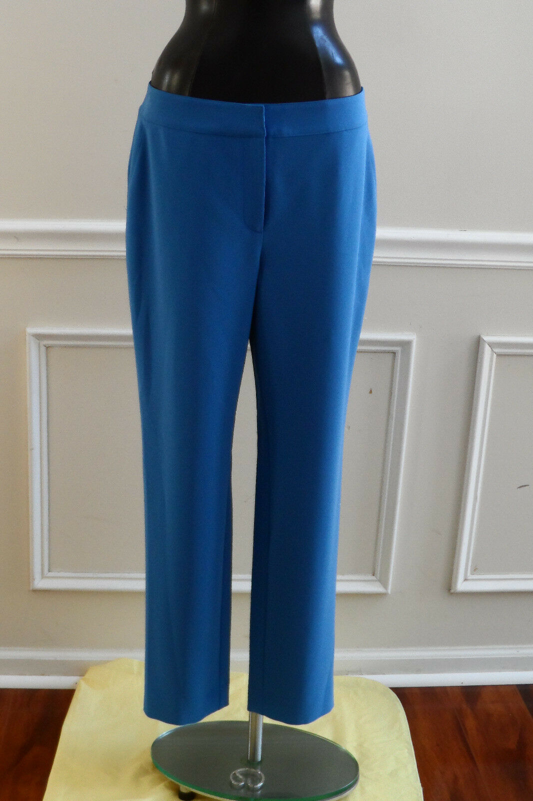 NEW ST.JOHN blueE DRESS PANT SIZE 10 (PACIFIC)