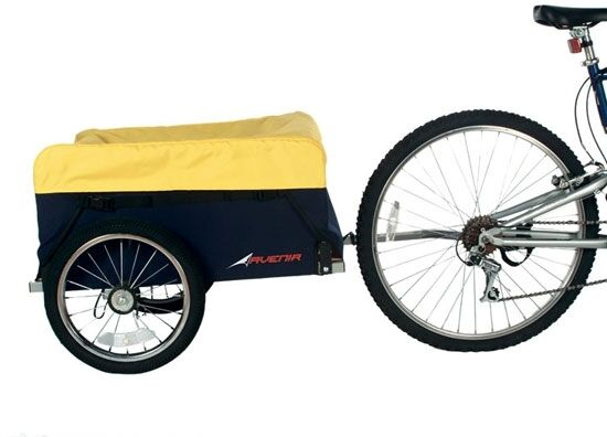 RALEIGH AVENIR MULE BIKE CARGO TRAILER CYCLING CAMPING CARRIES 40KG
