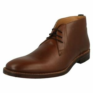 Mens Catesby Lace Up Smart Desert Boots - Mrg50504c