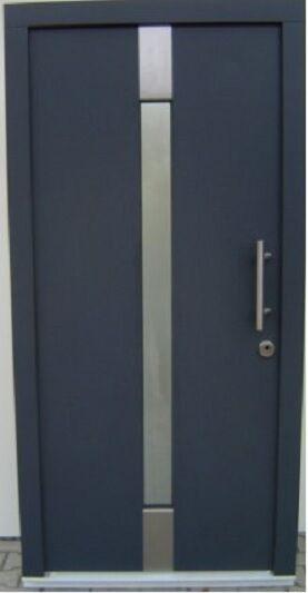 Massive individuell hergestellte hergestellte hergestellte Haustür in Holz ac240e