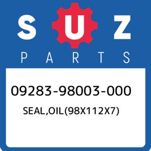 09283-98003-000-Suzuki-Seal-oil-98x112x7-0928398003000-New-Genuine-OEM-Part