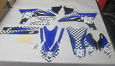 YAMAHA YZF250 2010-2013 One Industries Checkers graphics kit 1G56