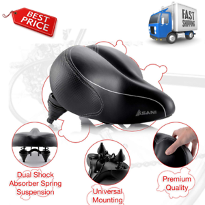 Bikeroo Oversized Comfort Bike Seat Most Comfortable  Bicycle Saddle NOB