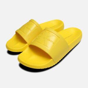 Klein Scivoli sandali in di gelatina Calvin Christie gialla wvvYzqrx8