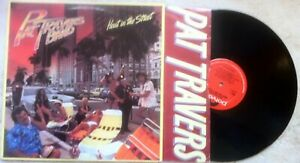 Pat-Travers-Band-Heat-In-The-Street-LP-PD-1-6170-1978-Rock-Great-Condition