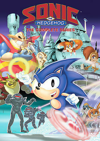 Sonic The Hedgehog The Complete Series Dvd 2007 4 Disc Set For Sale Online Ebay