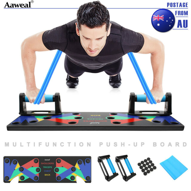 9 in 1 Push-Up Rack Board System Fitness Workout Train Gym Pushup Stand