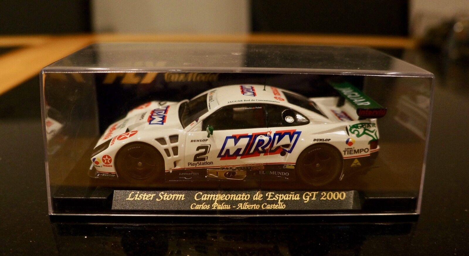 Fly slot car Lister Storm Campeonato de Espana GT2000