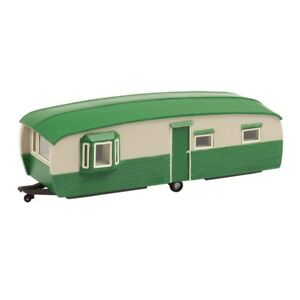 Late 1960's Bluebird 28' Static Caravan 00 Gauge = 1/76 Scale Fixing Prices According To Quality Of Products Other Oo Scale Parts & Accs Bachmann 44-0032