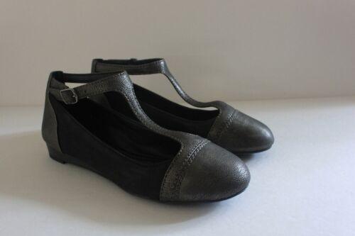5 di pelle Fintleyy scarpe nero 35 donna peltro 888450680498 marca in di Eur 5 5 di Lucky Sandalo Cq7RwR
