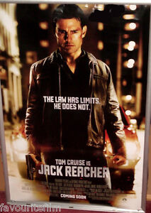 Cinema Poster Jack Reacher 2012 Advance One Sheet Tom Cruise Rosamund Pike Ebay