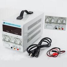 5A 30V DC Power Supply | Adjustable Dual Digital Variable Precision | Lab Grade