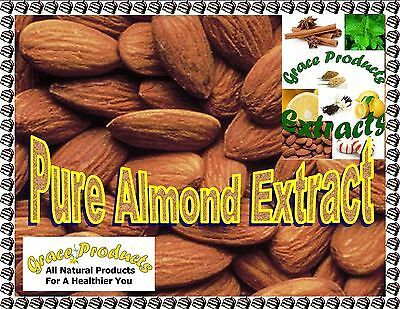 Natural Grace Products Extra Strength Pure Almond Extract All Natural & Organic
