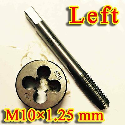 1pc HSS Machine M10 X 1.25mm Plug Tap and 1pc M10 X 1.25mm Die Threading Tool