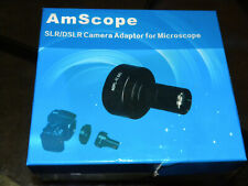 Amscope Slrdslr Microscope Lens Amp Camera Adapter For Nikon T2