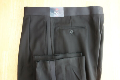 NWT Brooks Brothers Boys Black Wool Tuxedo Formal Pants Size 20 MSRP $98