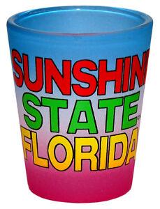 SUNSHINE-STATE-FLORIDA-SHOT-GLASS-COLLECTABLE-SOUVENIR-NOVELTY-GIFT-1401F