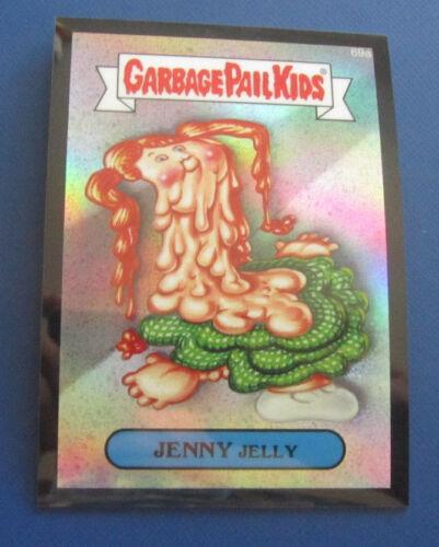 2014 GARBAGE PAIL KIDS GPK CHROME SERIES 2 BLACK REFRACTOR #69A JENNY JELLY