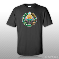 Uzbek Emblem T-shirt Tee Shirt Free Sticker Uzbekistan Flag Uzb Uz