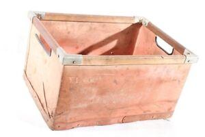 Old Box Cardboard Wood Old Vintage Transport Box Red