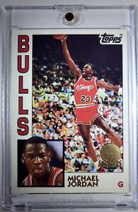 MICHAEL-JORDAN-1992-Topps-Archives-RARE-GLOSSY-GOLD-SP-Rookie-Card-RC-1984-Bulls