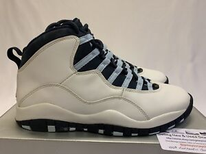 84a0577515ad3c 2005 Nike Air Jordan 10 Retro Ice Baby Blue UNC Tarheels Size 9 ...