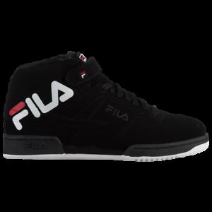 bd398271b9ea Fila Men s Heritage F- 13 Logo Sneaker Black White Red
