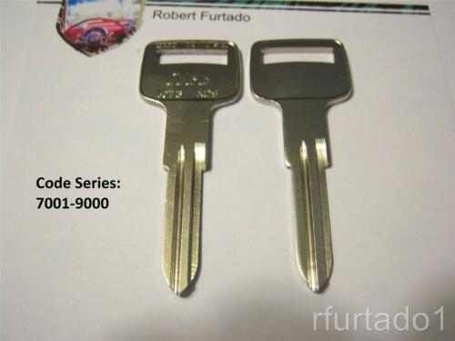 Key Blank for Volvo See Listing for Apps - VO73 Ignition MG Delorean